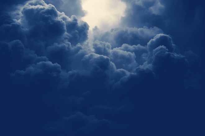 atmosphere blue cloud clouds