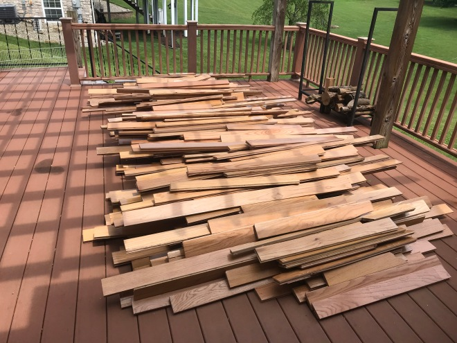 Hardwood Pile